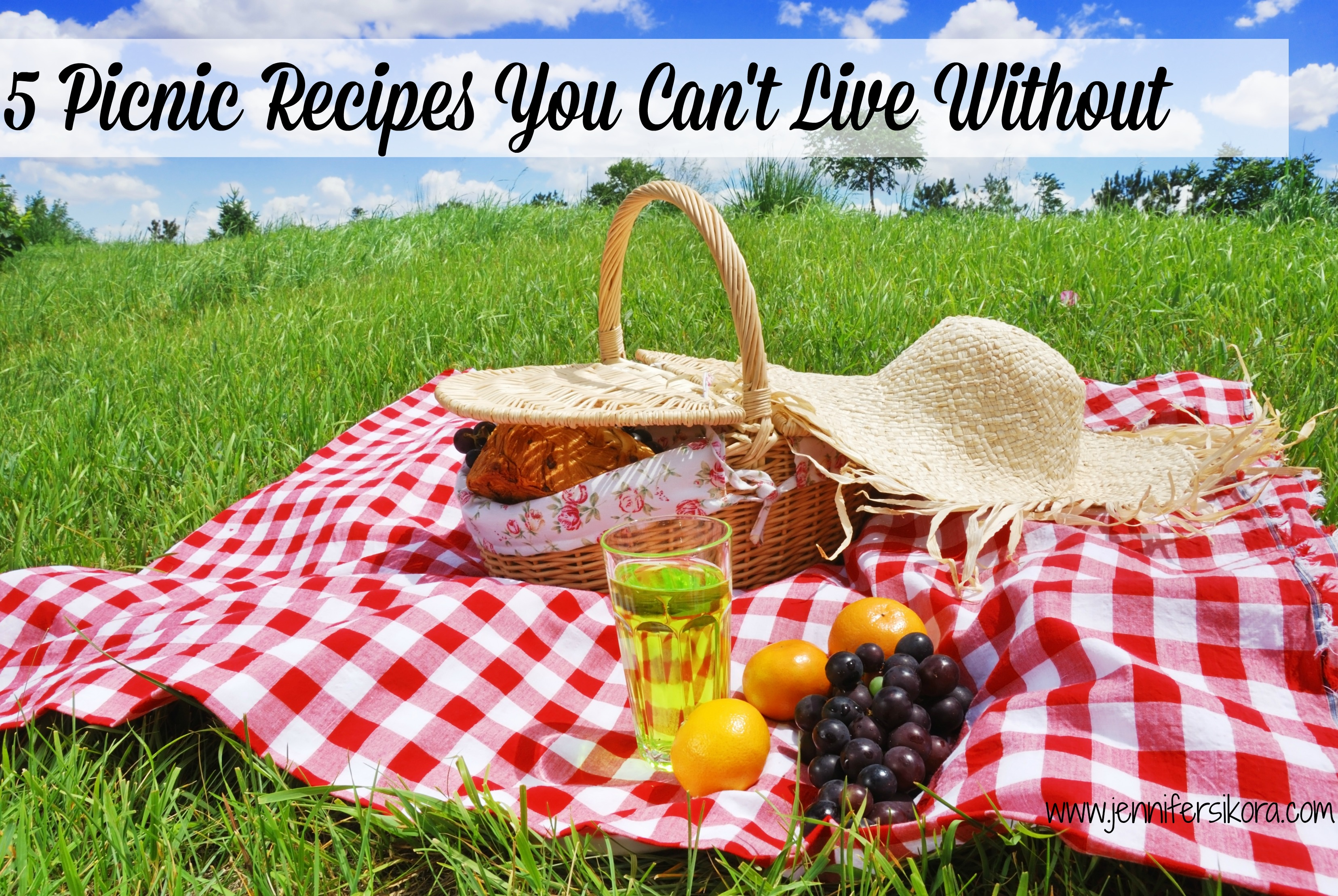 5 Picnic Recipes You Can't Live Without