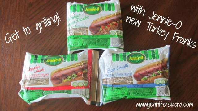Get Grilling with Jennie-O New Turkey Franks