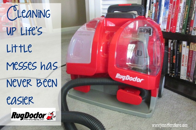 Cleaning Up Life's Little Messes with the Rug Doctor Portable Spot Cleaner