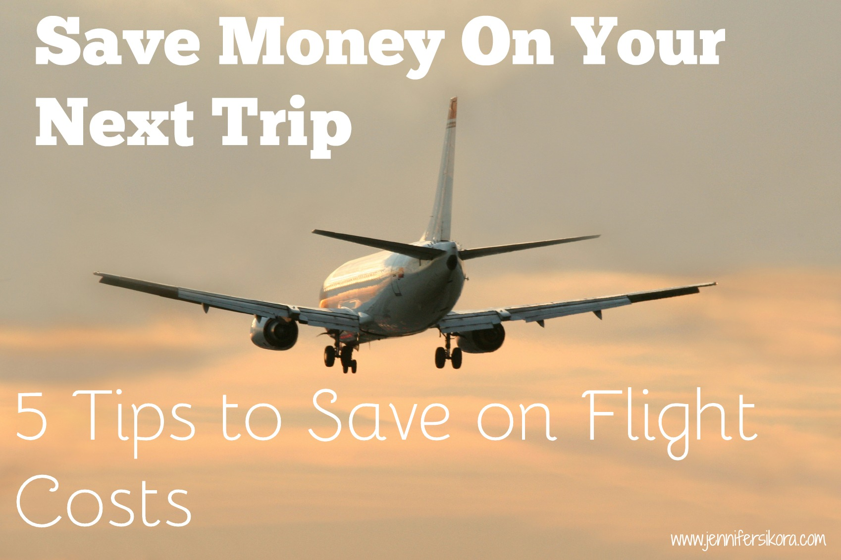5 Tips to Save on Flight Costs