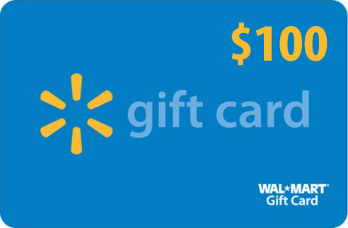 Enter to win a $100 WalMart Card for Back to School Time