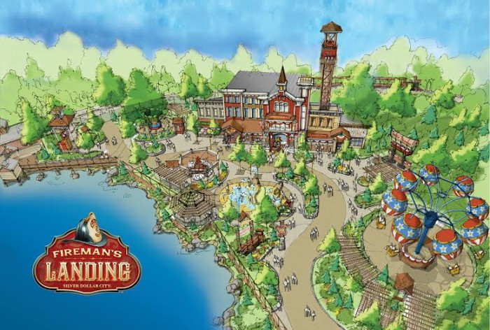 Firemans Landing Silver Dollar City