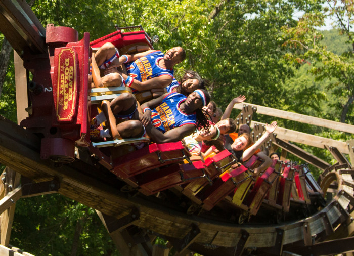 Harlem Globetrotters on Outlaw Run