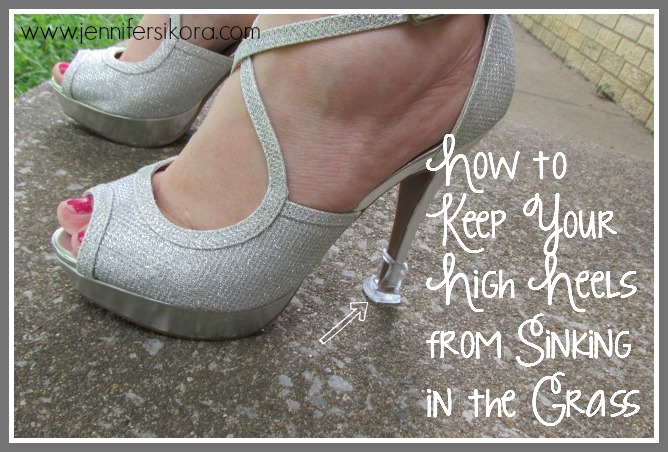 Fashion Friday — How to Keep Your High Heels from Sinking in the Grass