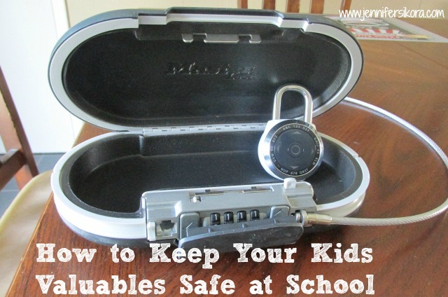How to Keep Your Kids Items Safe at School with Master Lock