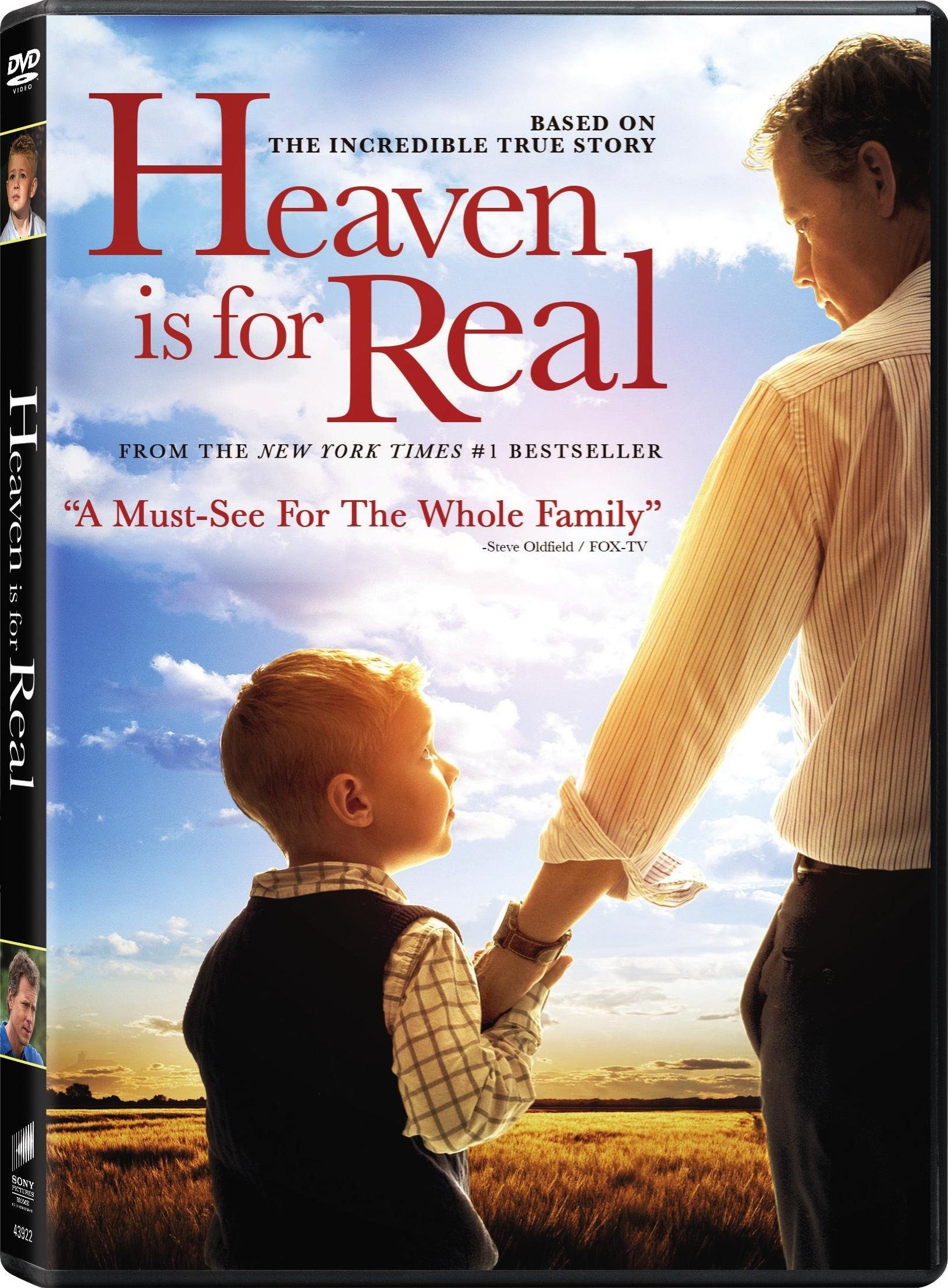 Heaven is for Real Now on DVD (plus Giveaway)
