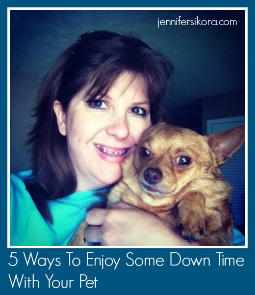 5 Ways To Enjoy Some Down Time With Your Pet