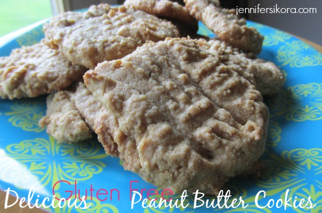 Gluten Free Peanut Butter Cookies Featuring Monk Fruit In The Raw
