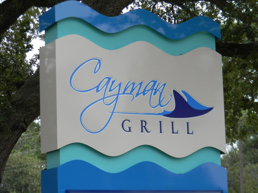 Play With the Stingrays While You Wait for Your Dinner at Cayman Grill in Gulf Shores and Orange Beach Alabama