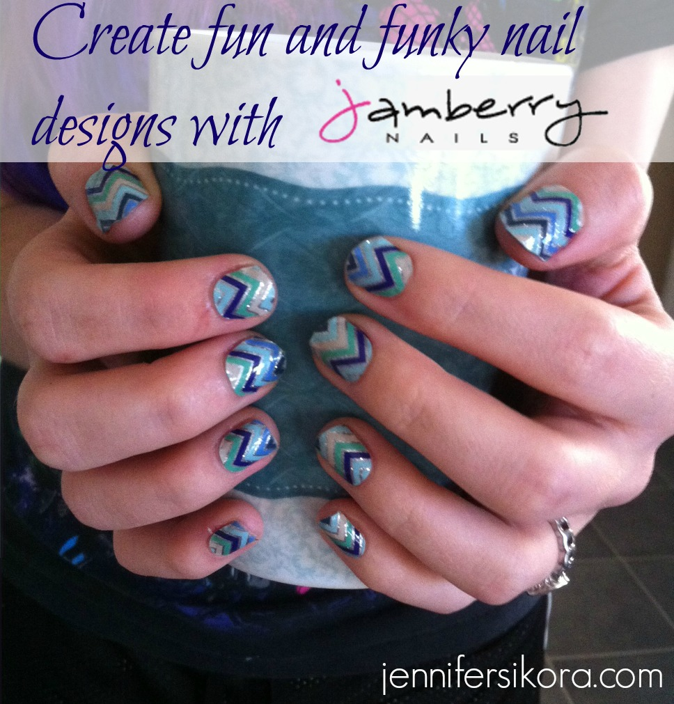 Create Fun and Funky Nail Designs with Jamberry Nails