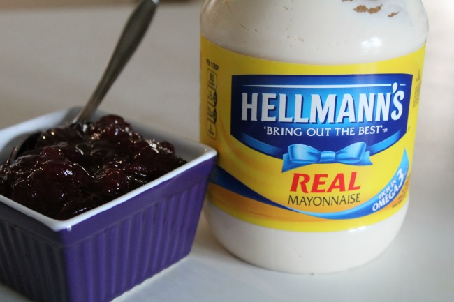 Star ingredients for cranberry mayonnaise