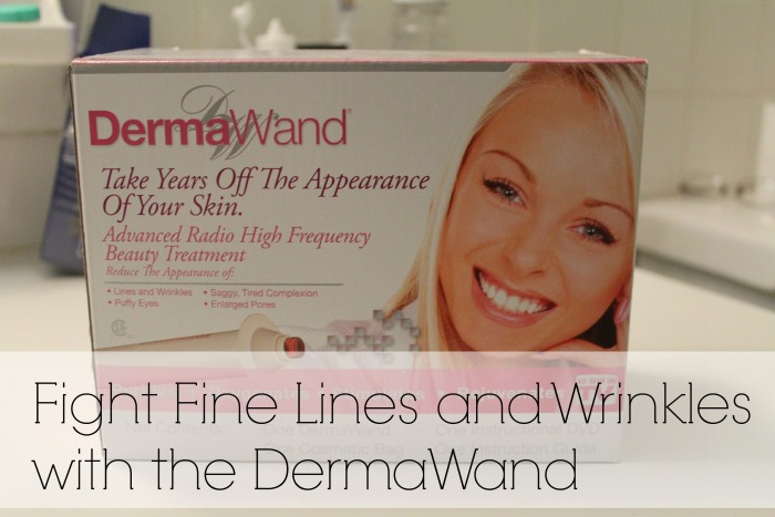 Turning 40 and Getting Rid of Wrinkles with the DermaWand #MyDermaWand