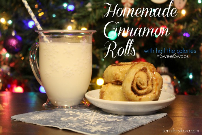Delicious Homemade Cinnamon Rolls with Splenda #SweetSwaps