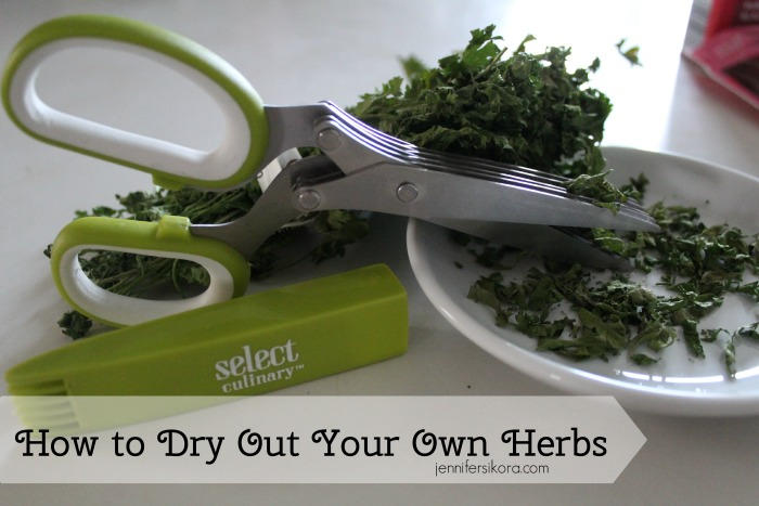 How to Make Your Own Dried Herbs