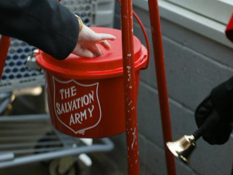 Salvation Army #RedKettleReason Campaign
