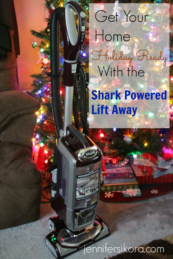 Get Your House Holiday Ready with the Shark Powered Lift Away Vacuum