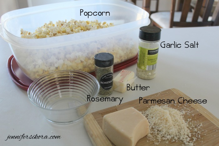 Ingredients Garlic Parmesan Popcorn