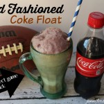 Old Fashioned Coke Float