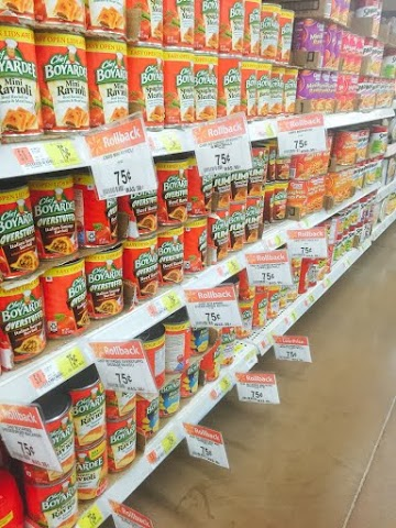 Chef Boyardee on Rollback at Walmart