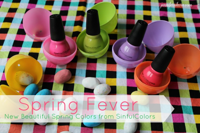 Cure Spring Fever with These New Spring Colors from SinfulColors