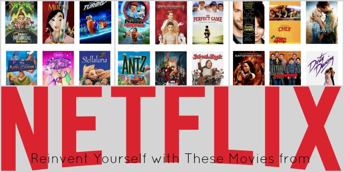Reinvent Yourself This Month with This Inspiration from Netflix