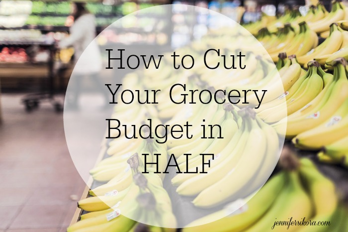 Monday Morning Motivation: How to Cut Your Grocery Bill in Half