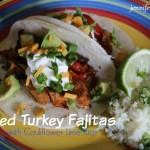 Grilled Turkey Fajitas