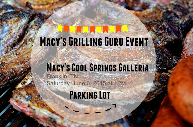 I'm Headed to the Macy's Grilling Guru Event in Nashville