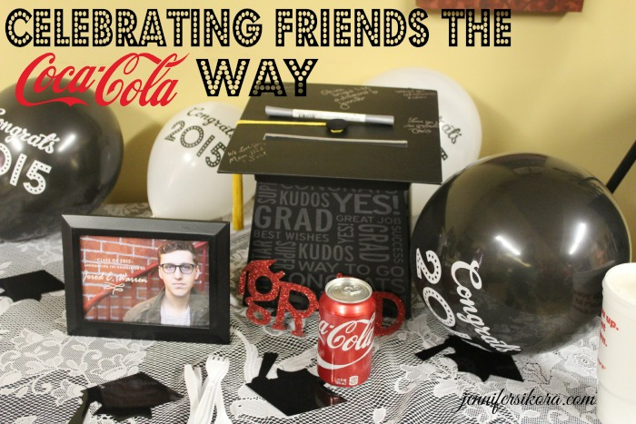 Share it Forward During Graduation With Coca Cola and Friends