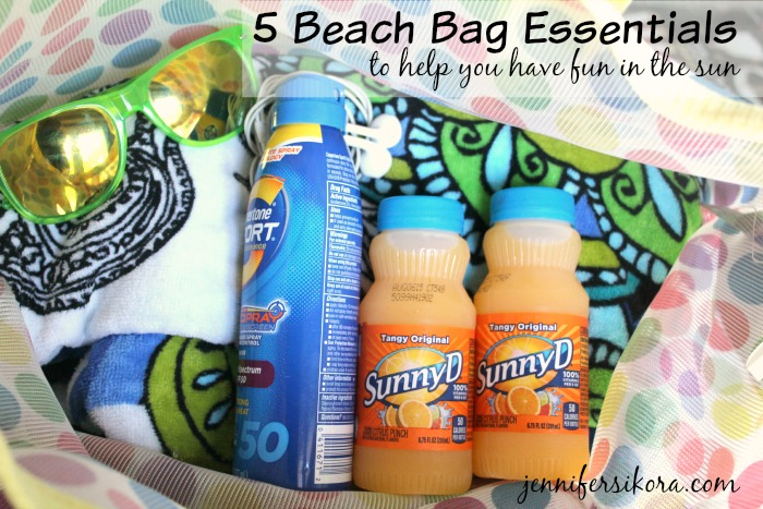 5 Beach Bag Essentials To Help You Have Fun in the Sun
