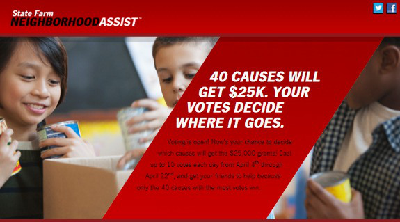 Teaching Your Kids What it Means to Give Back Through the State Farm Neighborhood Assist