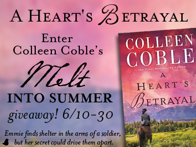 Book Review: A Heart's Betrayal by Colleen Coble
