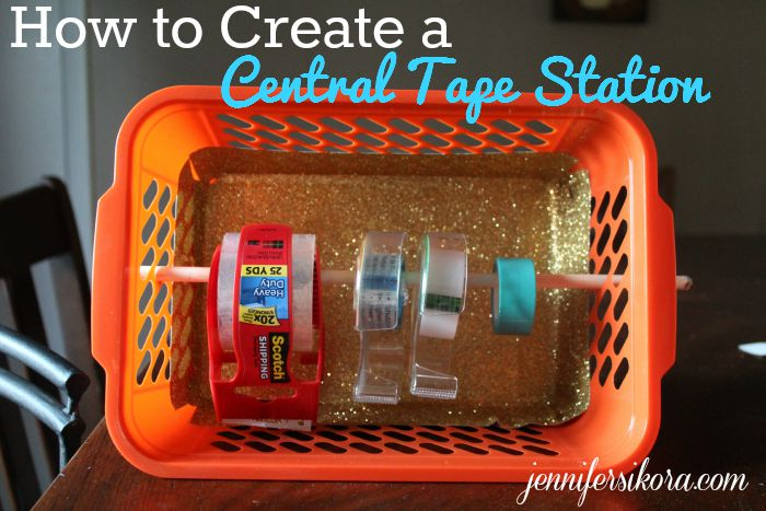How to Create a Central Tape Station