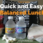 Here are my 5 quick tips to help create a well balanced lunch on the go.