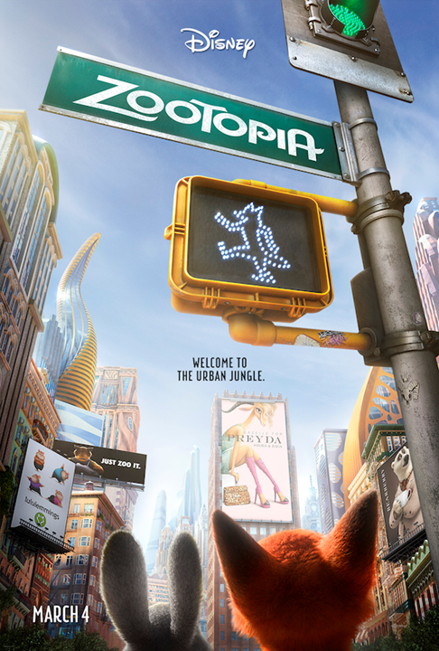 Zootopia Disney's Newest Animated Movie – Poster Available