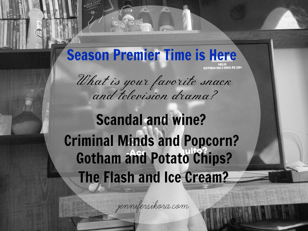 What is Your Favorite Snack for Season Premier Month?