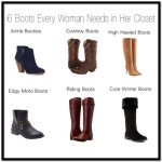 6 Types of Boots Every Woman Needs In Their Closet