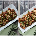 Using Lightroom to Lighten Food Photos