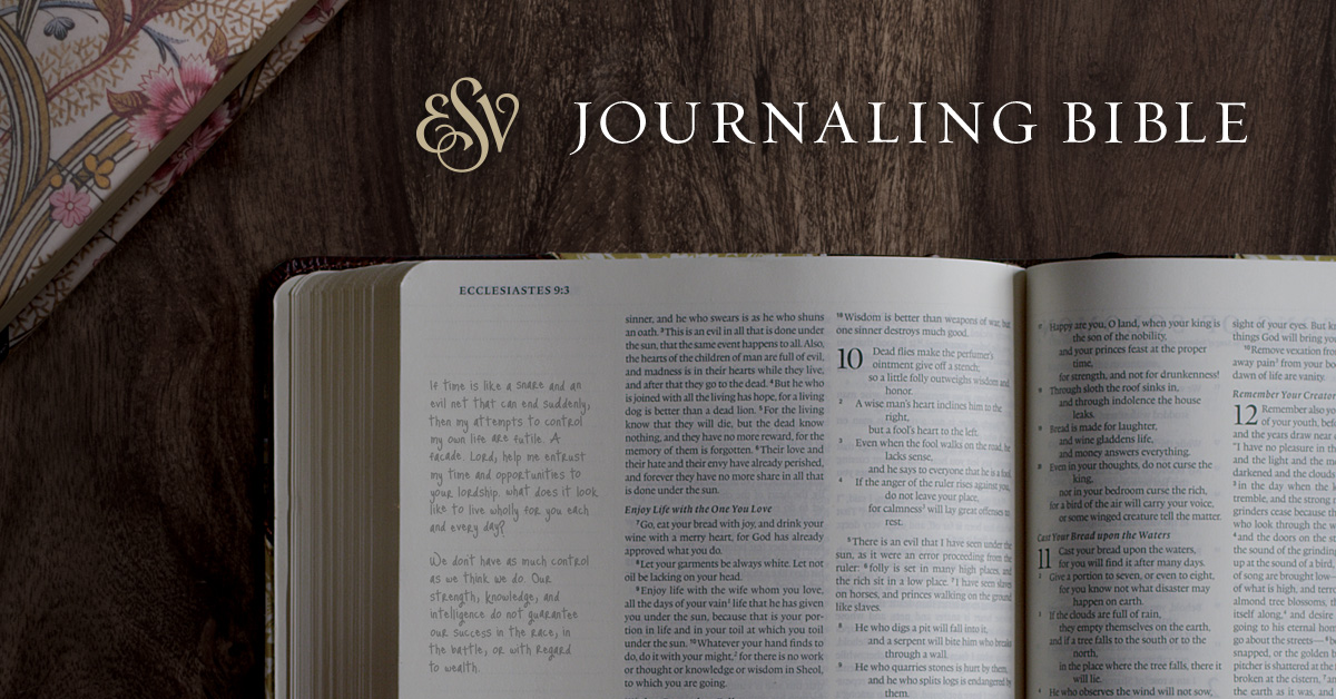 ESV Journaling Bible Review + Giveaway