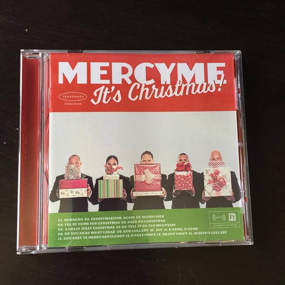 MercyMe It's Christmas Album Available at Pizza Ranch (plus Giveaway)