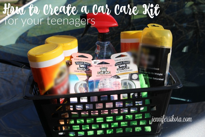 How to Create a Car Care Kit for Your Teenager