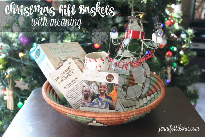 Christmas Gift Baskets with Meaning