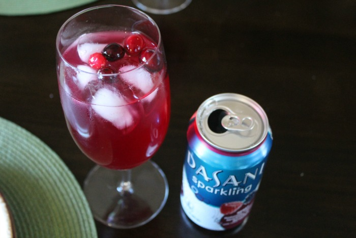Sparkling Cranberry Cinnamon Punch