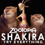 Shakira new music video for Zootopia