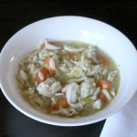 Lemony Chicken Orzo Soup 2