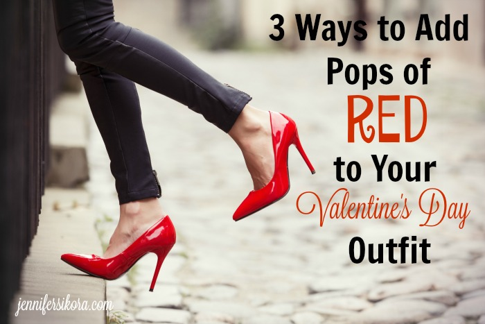 How to Add A Hint of Red to Your Valentine's Day Outfit