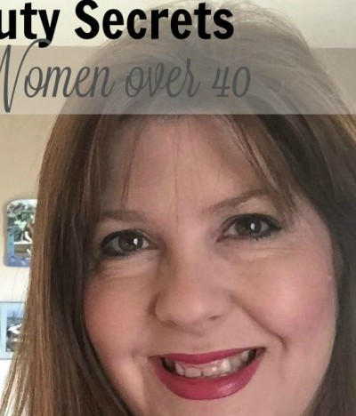 5 Beauty Secrets for Women Over 40 (plus my 5 minute quick updo)