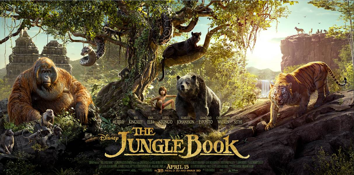 Disney's THE JUNGLE BOOK – New Poster Now Available