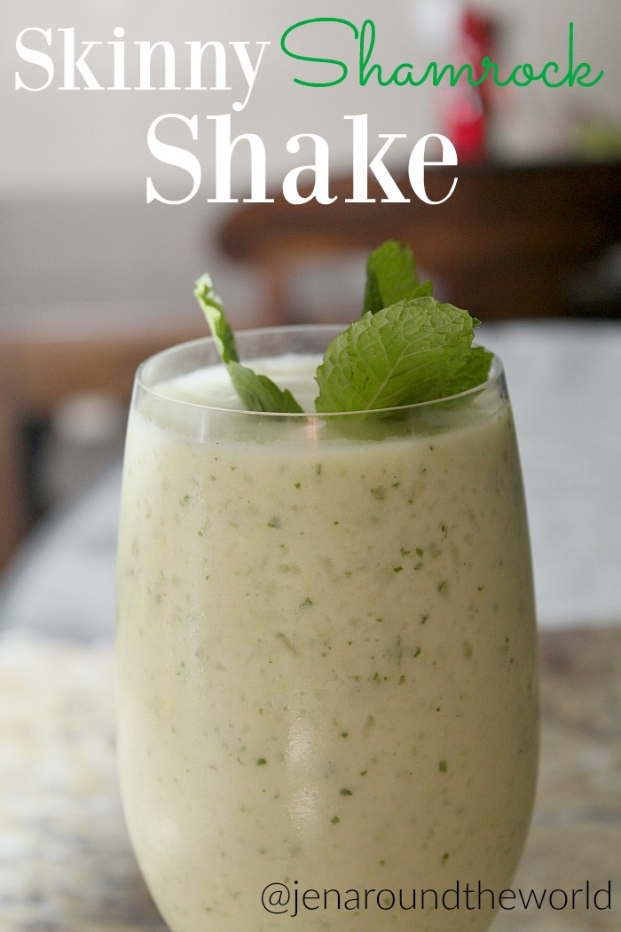 Skinny Shamrock Shake - Jen Around the World