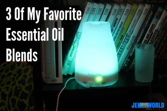 3 of my favorite essential oil blends